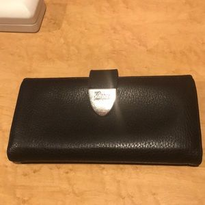 Authentic Gucci Black Leather Wallet